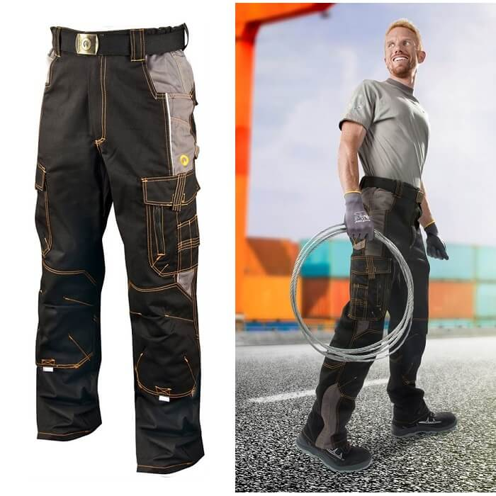 Ardon Vision 02 Profesjonalne Spodnie Robocze do Pasa Monterskie 46-64