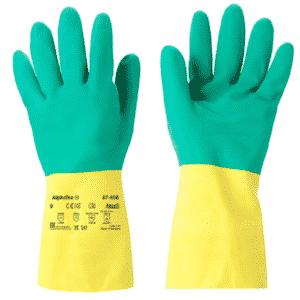 Ansell AlphaTec 87-900 Rękawice Ochronne Chemiczne Kwasoodporne r.7,5-11