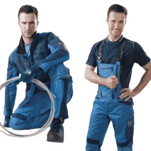 Ardon R8ED+ Profesjonalne Ubranie Robocze Bluza+Ogrodniczki 46-64
