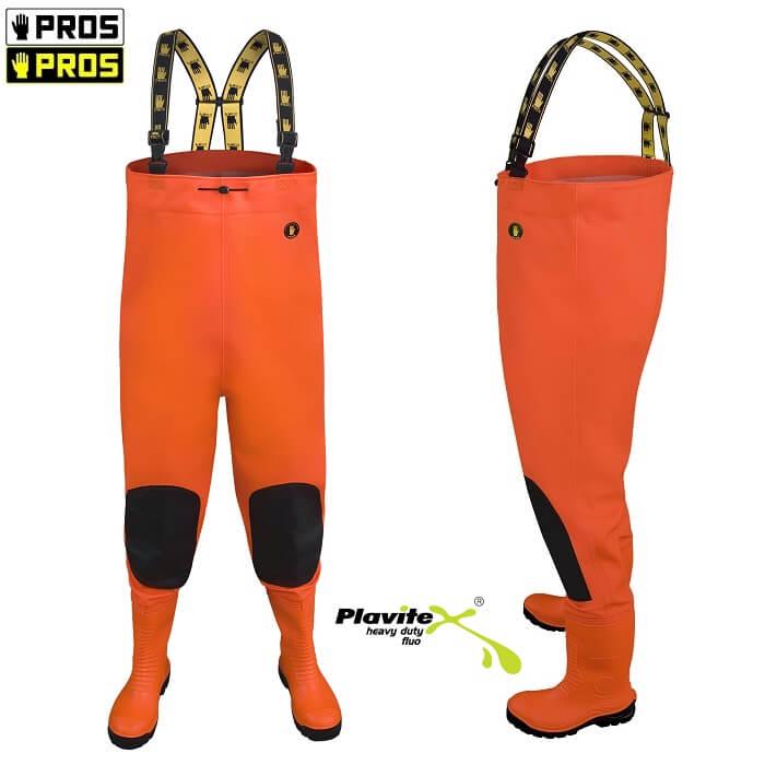 872f2f11392942 006 PROS Spodnie ogrodniczki z regulowanymi szelkami z elastycznej gumy