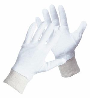 Rękawice Robocze Bawełna Białe Rękawiczki Wkłady Ardon Corey 7-10 Komsetyczne