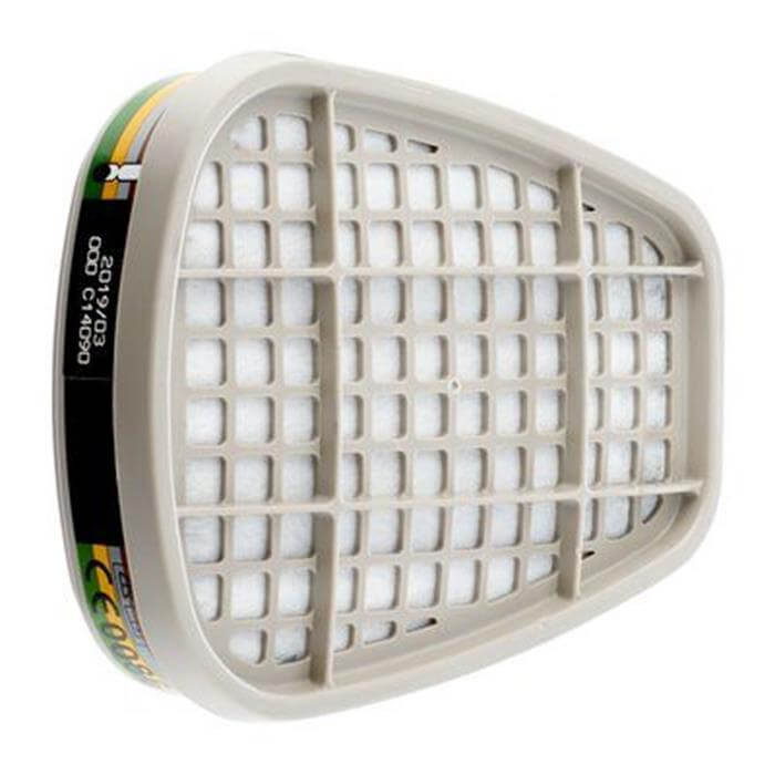 3M Filtr Węglowy Pochłaniacz 6059 ABEK1 Przeciw Parom Ogranicznym Komplet