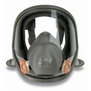 Pełna Maska Pełnotwarzowa Lakiernicza 3M 6800M Przeciwgazowa Dla Lakiernika