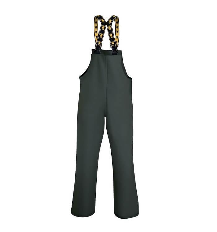 006 PROS Spodnie ogrodniczki z regulowanymi szelkami z elastycznej gumy 48-62