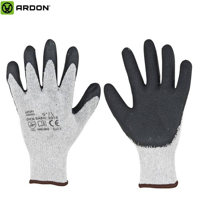 Ardon Dick Basic Rękawice Dziane z Poliestru i Bawełny Rozm. 8,9,10