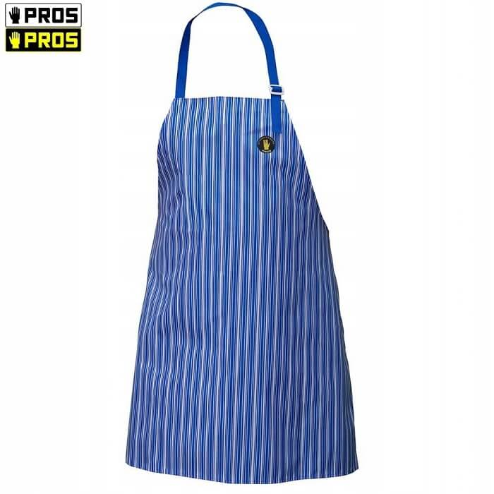Pros Fartuch 202 Niebieski Wodoochronny Gastronomiczny