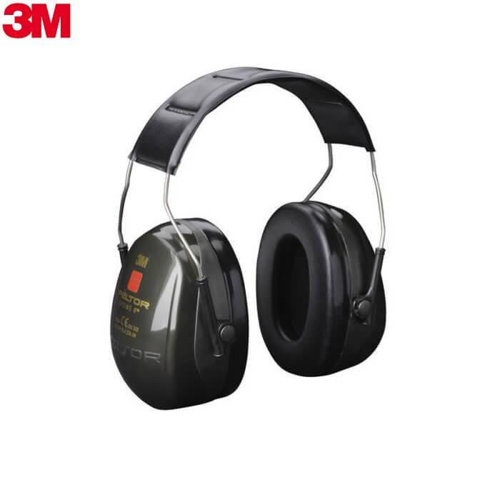 3M Peltor Optime II Nauszniki Słuchawki Ochronne Przeciwhałasowe H520A