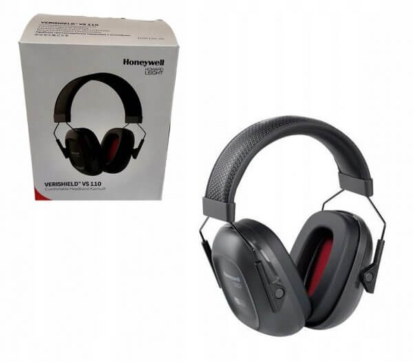 Nauszniki Ochronne Honeywell VS110 z serii 100 Słuchawki Ochronniki