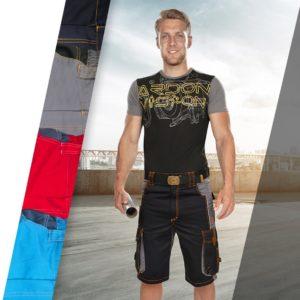 Spodenki Robocze Ardon Vision Krótkie Spodnie 46-62 (3 kolory)